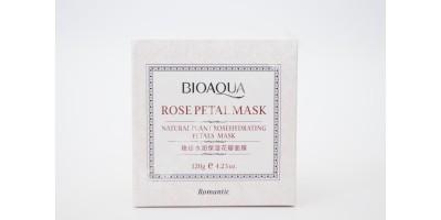 Увлажняющая маска для лица с лепестками Розы