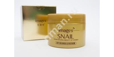 IMAGES SNAIL Отшелушивающий Гель для лица с экстрактом муцина улитки