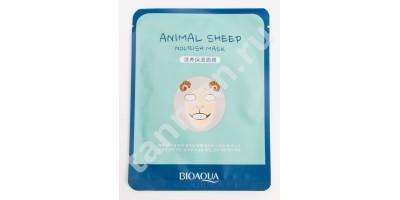 Маска - муляж для лица Питательная ANIMAL Sheep