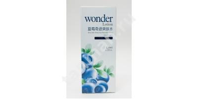 Лосьон для лица с экстрактом черники  WONDER Lotion