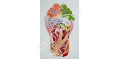 Маска для Ног Грязетурмалиновая Foot Mud Mask Fruit & Herbal  Beauty Host