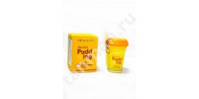 MENGKOU Маска для лица FACIAL PUDDING MANGOS Индийский Манго (успокаивающая, витаминная)
