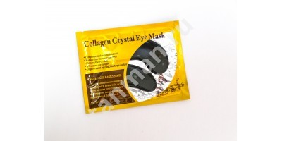 Маска гелевая для век COLLAGEN CRYSTAL EYE MACK (черная)