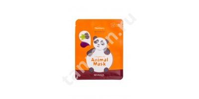 BIOAQUA ANIMAL MASK Panda Blackberry маска - муляж для лица